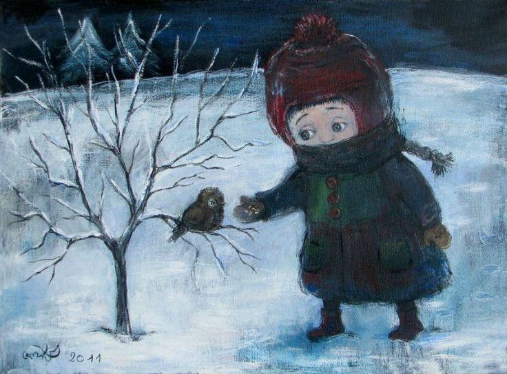 Трогательные картины Нино Чакветадзе - Ярмарка Мастеров - ручная работа, handmade