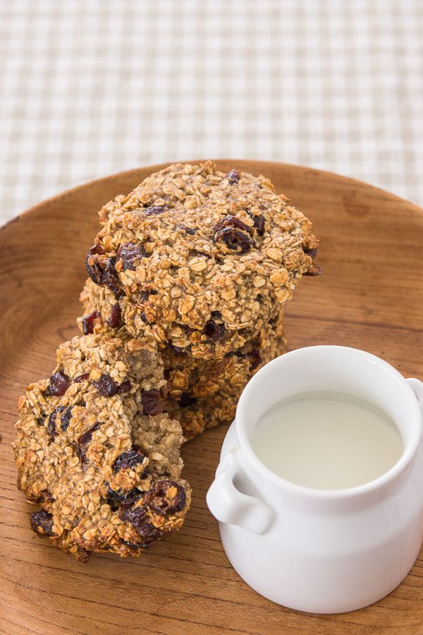 For kids with sensitive diets, these Vegan Oatmeal Cookies are a great option.