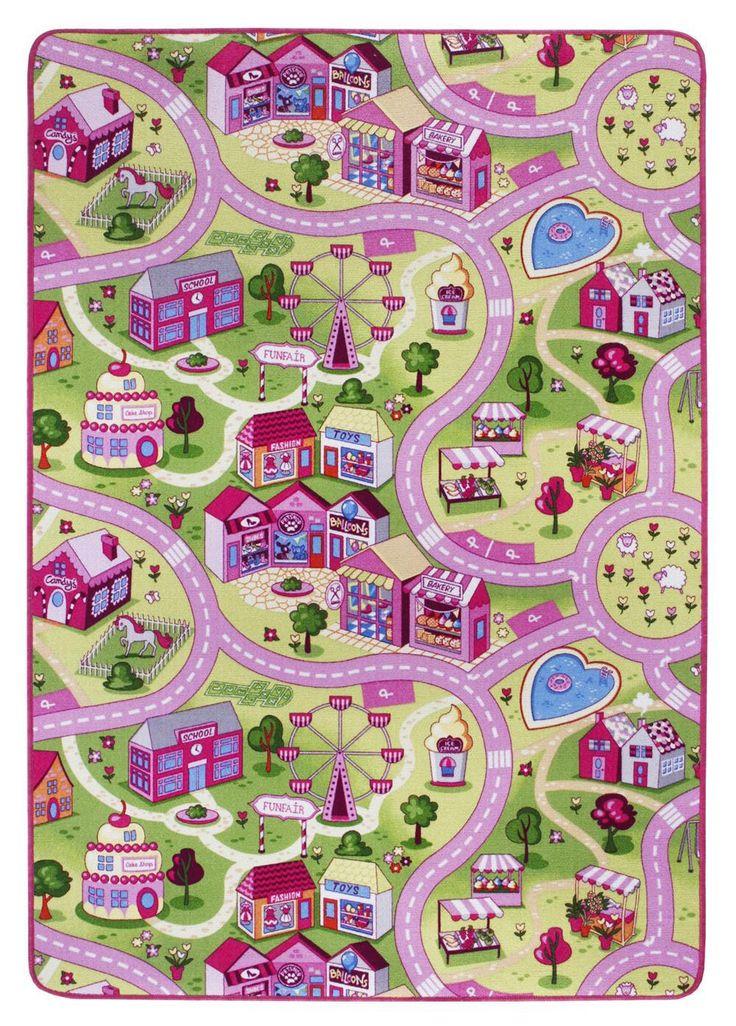 Andiamo Sweet Village in Pink | onloom Teppiche