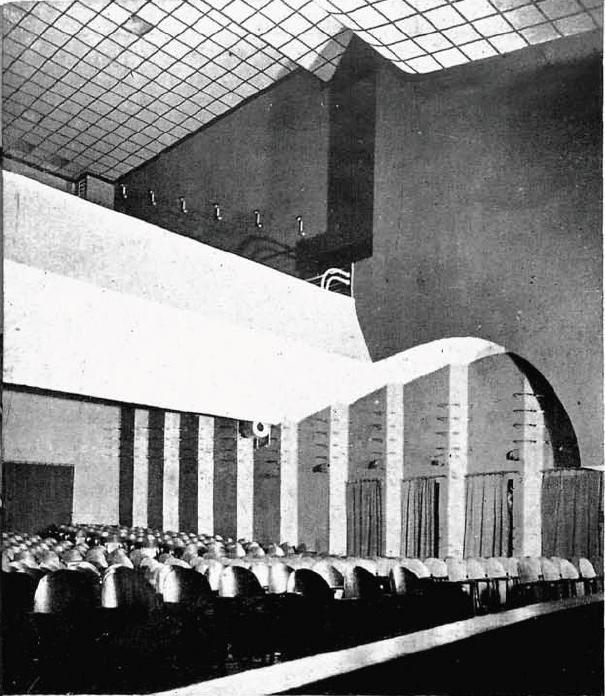 Sala kinowa w Kinie Atlantic w 1930 #kinoatlantic