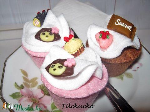 Dora játék süti szett (Filckucko) - Meska.hu