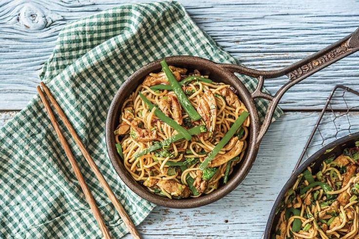 Shanghai-Style Chicken Stir-Fry with Hokkien Noodles Recipe | HelloFresh