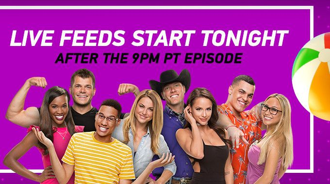 Live Feeds Launch Tonight After 'Big Brother 19'