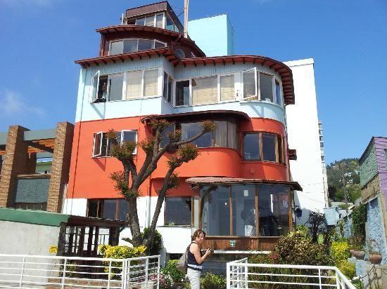 Valparaiso Photo of La Sebastiana (Pablo Neruda house)