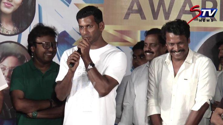 actor vishal speech @ Film Today Awards 2017 | Bhagyaraj, Samuthirakani,...