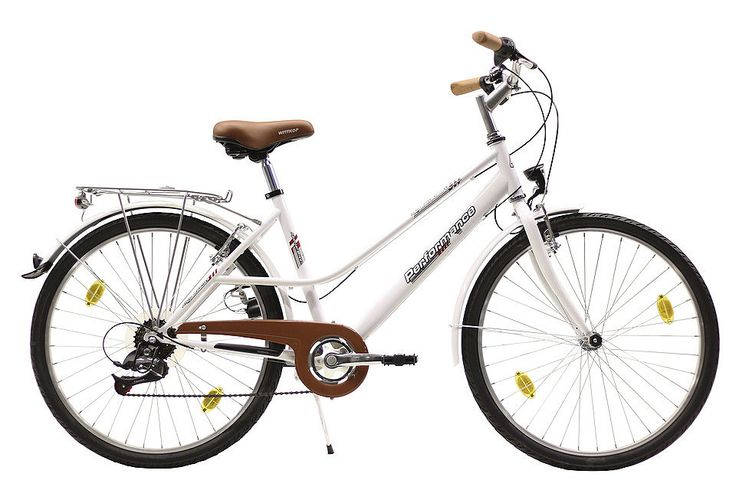 Citybike (Damen) »66,04 cm (26 Zoll), 71,12 cm (28 Zoll)« für 169,99€. Mixte-Stahlrahmen, 6-Gang Kettenschaltung, Unicrown Gabel, Stadtbügel, V-Bremsen bei OTTO