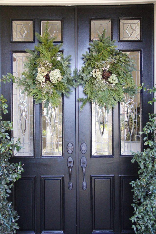 Best 25 Christmas Front Doors Ideas On Pinterest