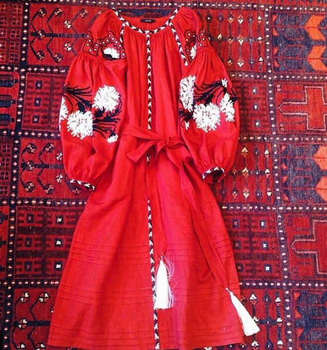 Long embroidered dress Vita Kin Kx7ob0m