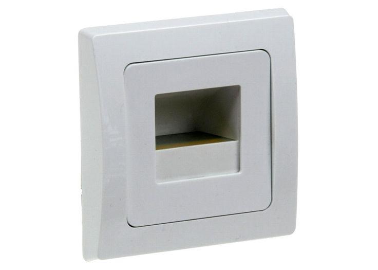 LED-Einbauleuchte DELPHI COB weiß Lichtfarbe warmweiß
