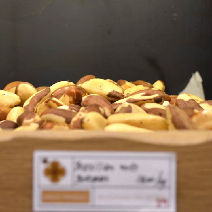 Brazilian Nuts Origin: Volivia They have rich & creamy taste. Beneficial properties: Source of protein and selenium, which has antioxidant properties. Tip: Add a few broken brazilian nuts in the classic Caesar salad for a richer flavor.