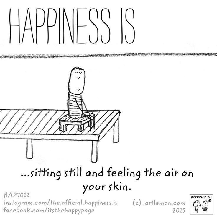 Restare seduto e sentire la carezza del vento sulla tua pelle