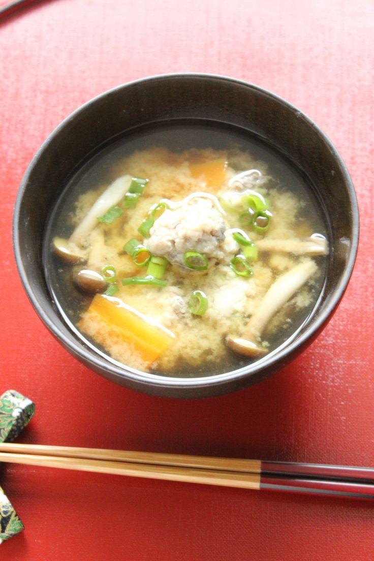 いわしのつみれお味噌汁 by シニア野菜ソムリエ立原瑞穂 / 青魚が苦手な方にもおすすめのレシピです。 / Nadia