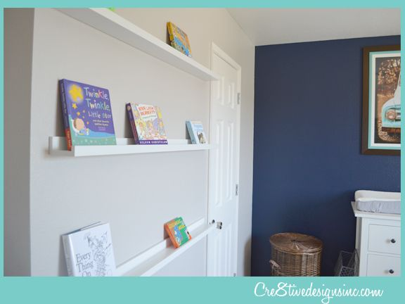 Navy accent wall sherwin williams 6244 naval big boy for Boys room accent wall