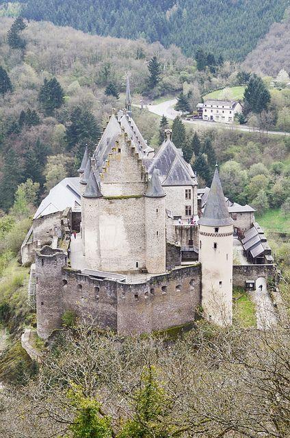 Vianden Castle, Vianden-Luxembourg
