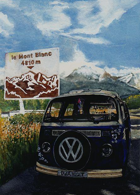 volkswagen van hippie interior. vw bus style van interior camper vans artwork bulli t1 paint bay window digital photography volkswagen hippie