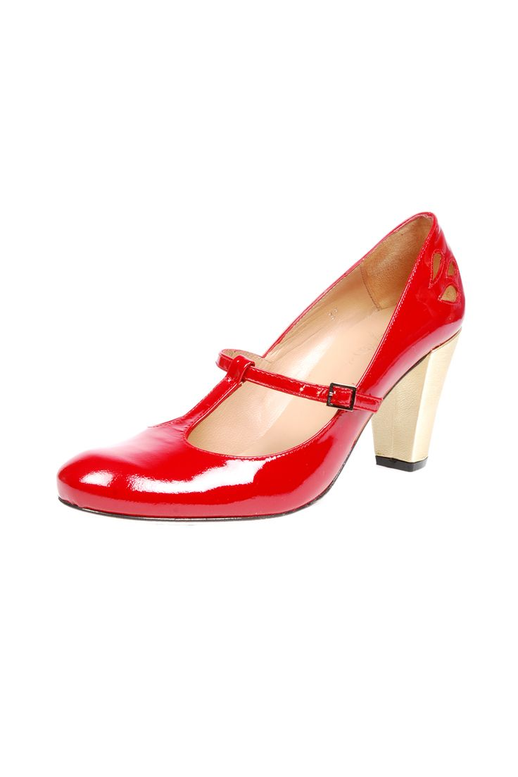 Red Patent Heels » These are so sassy!