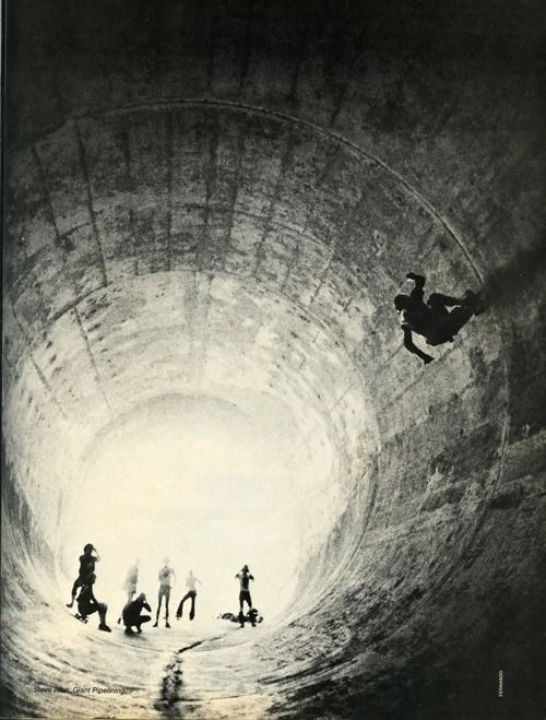 : Tunnel Photography, Skating Photography, Skating Tunnel, Skateboard Playground, Black And White, Lord Of Dogtown, Full Pipes, Photography Black, One Points Perspective