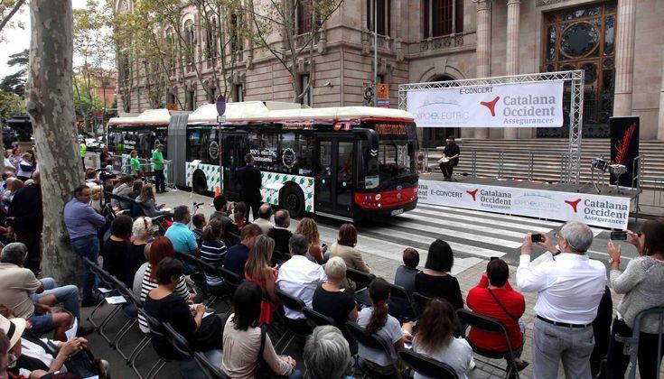 El e-Concierto demuestra cómo el vehículo eléctrico reduce la contaminación acústica en la ciudad