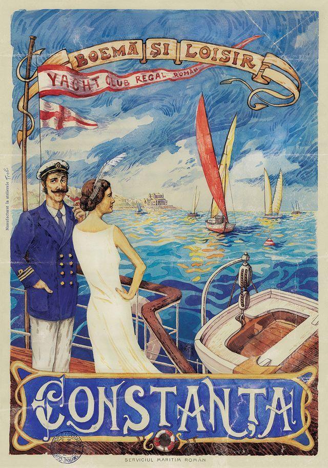Yacht Club Regal Român, fondat în anul 1921 sub patronajul Casei Regale.