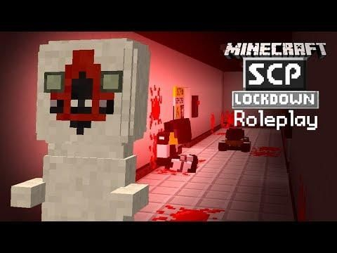SCP 173's CONTAINMENT BREACH! (Minecraft SCP Roleplay