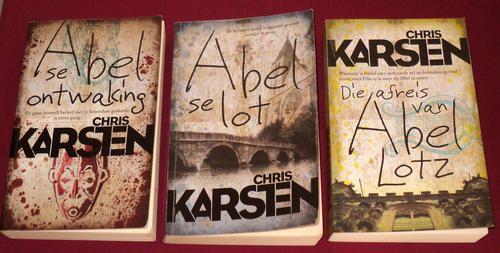 Chris Karsten - Abel Lotz trilogie