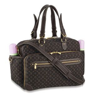 Louis Vuitton Min Lin diaper bag