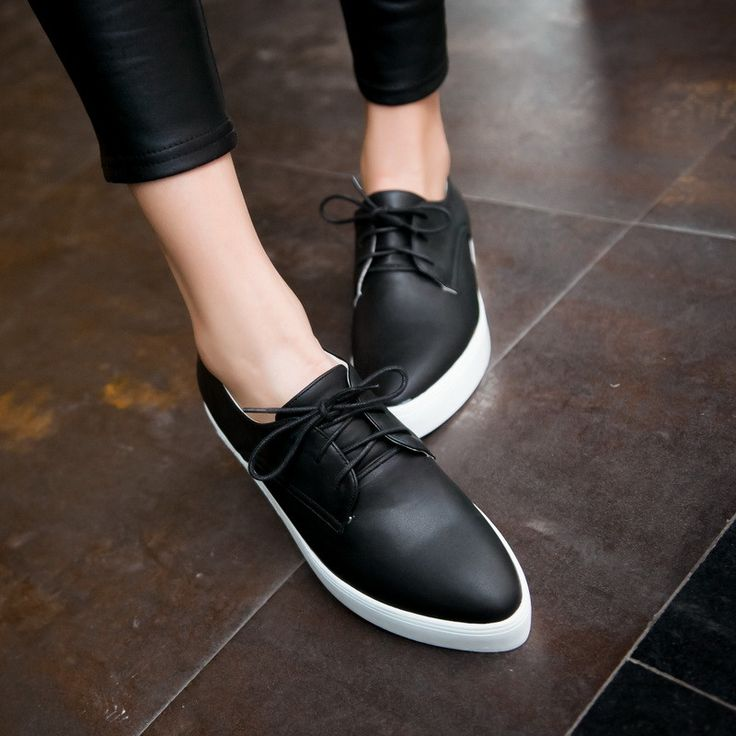 Heels: approx 3.5 cm Platform: approx - cm Color: Black, White Size: US 3, 4, 5, 6, 7, 8, 9, 10, 11, 12 (All Measurement In Cm And Please Note 1cm=0.39inch) Note:Use Size Us 5 As Measurement Standard,