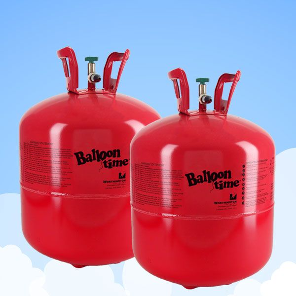 Helium Canister - For 60 Balloons, 2 x Gas Cylinders Super Saver Kit£34.982pk