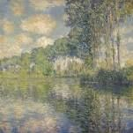 Pioppi sull'Ept, Claude Monet,  1891, National Gallery of Scotland, Edimburgo