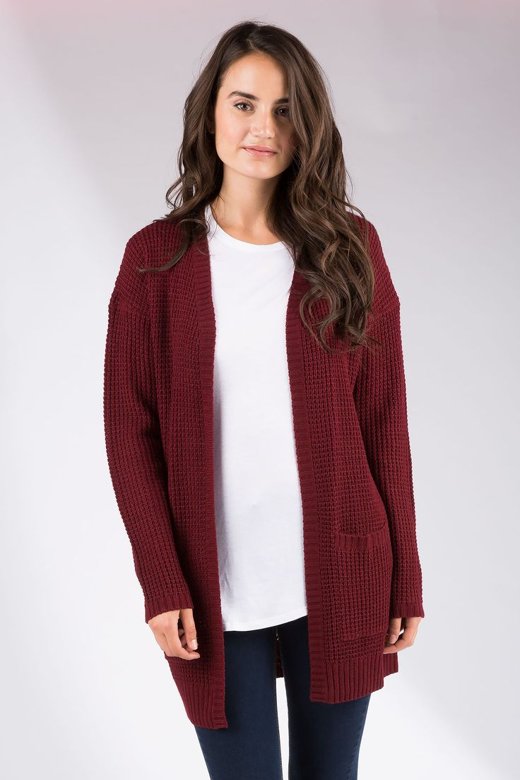 Girls Open Cardigan with Pocket
