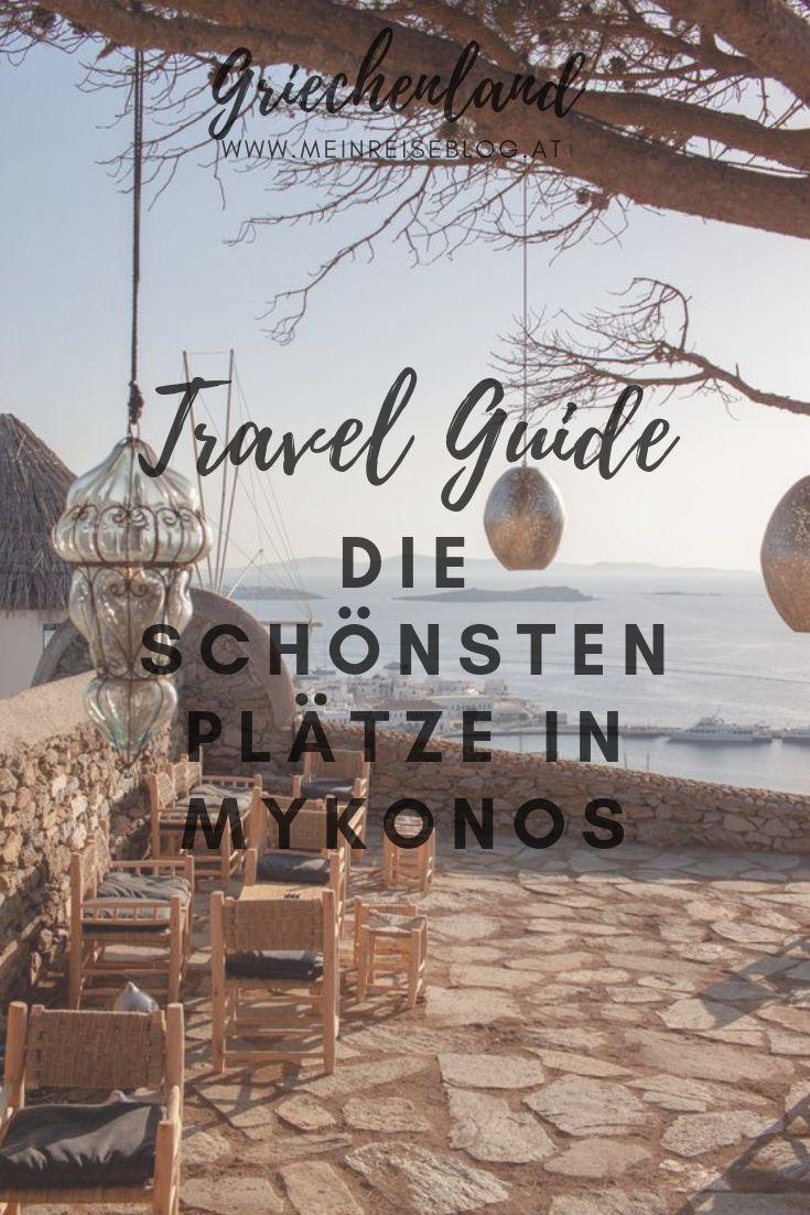 Travel Guide Griechenland: Entdecke die schönsten Plätze in Mykonos.