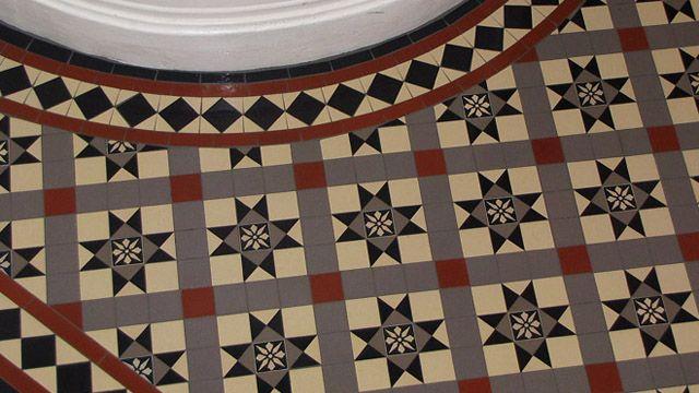 London Mosaic | Gallery of Tile Installations | Photos of Victorian Floor Tiles | Stevenson 50