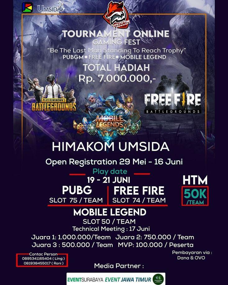 HIMAKOM UMSIDA PRESENT ONLINE TOURNAMENT GAMING FEST in
