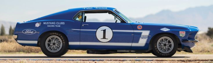 The 1969 Mustang Boss 302 Trans Am was driven by some legendary race champions