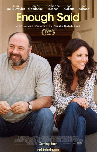 Başka Söze Gerek Yok - Enough Said - 25 Ekim 2013 Cuma | Vizyon Filmi Julia Louis-Dreyfus, James Gandolfini #EnoughSaid #Sinema
