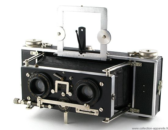 Baudry Isographe Vintage cameras collection by Sylvain Halgand. 1935-45