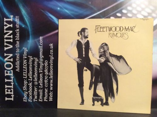 Fleetwood Mac Rumours LP Album Vinyl Record K56344 Rock 70's Stevie Nicks Music:Records:Albums/ LPs:Rock:Progressive
