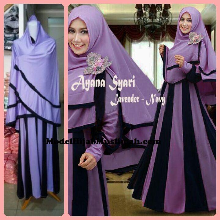 Model Baju Gamis Modern - Ayana