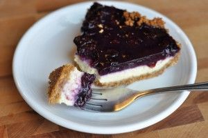 Blueberry Cheesecake you must try! Forget about the diet on this one! Yummy!