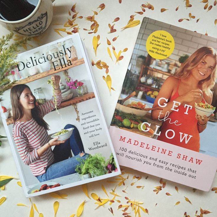 Great healthy eating recipe books! Read the Book review on Deliciously Ella by Ella Woodward and Get the Glow by Madeleine Shaw.  Perfect for a gift for the woman who has everything, love to cook and wants to look after herself!
