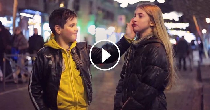 Surprising Reactions from Boys Ages 7 to 11 Who Were Asked to Slap a Girl awkward, but cute