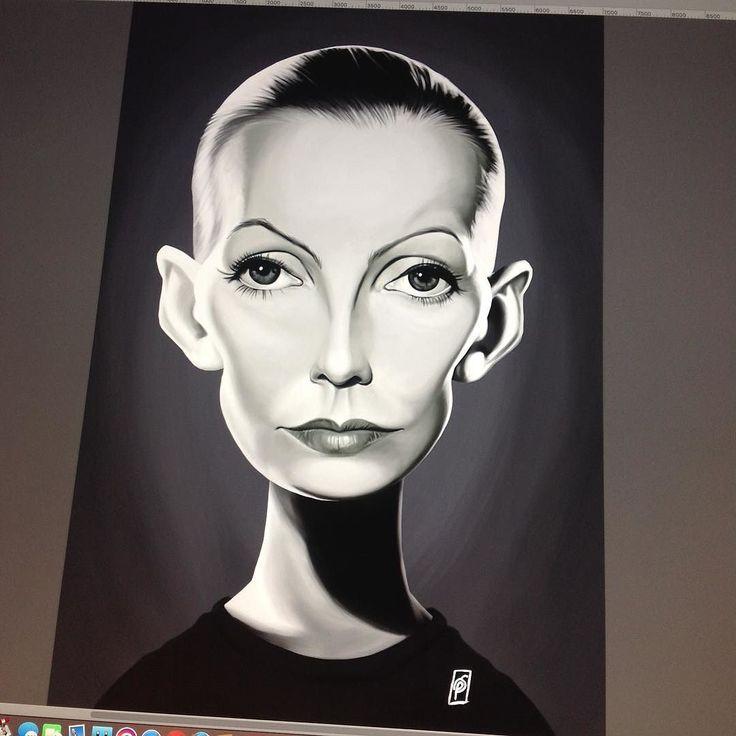 This weeks Celebrity Sunday is Greta Garbo! #gretagarbo #caricature #robart #wacom #digitalart #digitalpainting #instaartist #instaart #celebrity #vintage instagram   art   ideas   follow