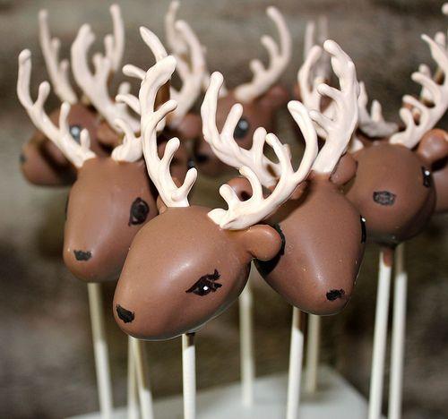 Deer Cake Pops by MichelePetersen, via Flickr