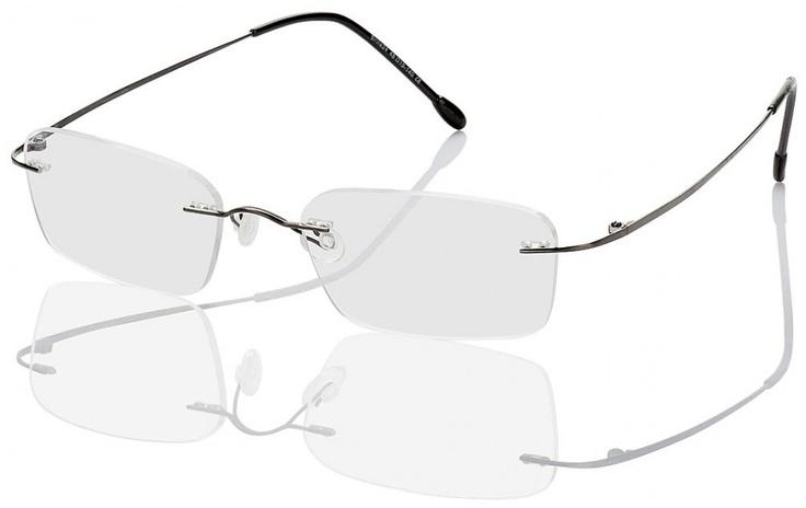 Randlose Titanbrille Davos Sehr leichte, randlose Titanbrille in filigranem Design für Damen und Herren. Material: Randlose Brille aus Titan. Bügelenden/Nasenpads: Kunststoff. Eigenschaften: So dünn und dennoch stark kann nur eine Titanbrille sein. Stil: Diese filigrane, geschmackvolle Brille überzeugt optisch und vom Tragekomfort. Mit nur 8 g ist sie einfach unglaublich leicht.