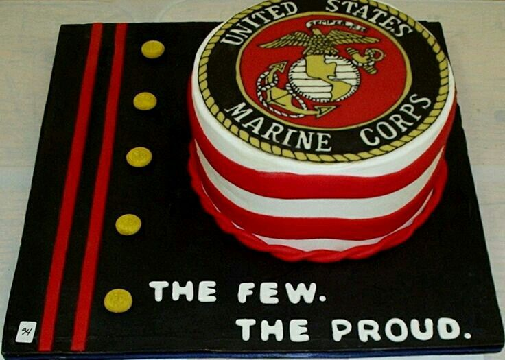 152 Best Images About Marine Corps Cakes Marine Corps