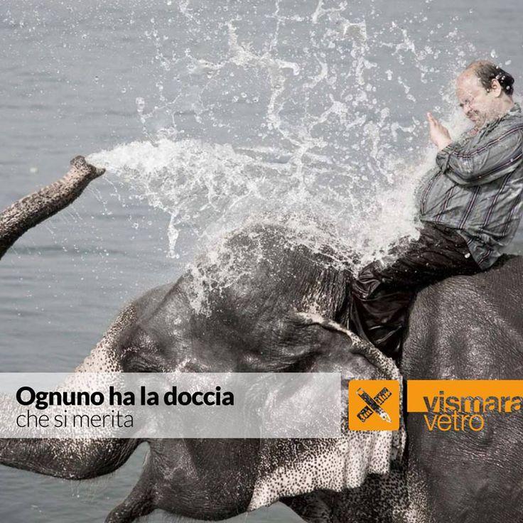 Ognuno ha la doccia che si merita! bit.ly/TBWCfc #vismaravetro #configuratore #cabinadoccia #design #madenitaly #boxdoccia