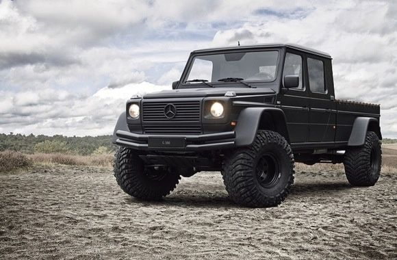 2002 mercedes benz gwagen 4x4 monster truck pickup. Black Bedroom Furniture Sets. Home Design Ideas