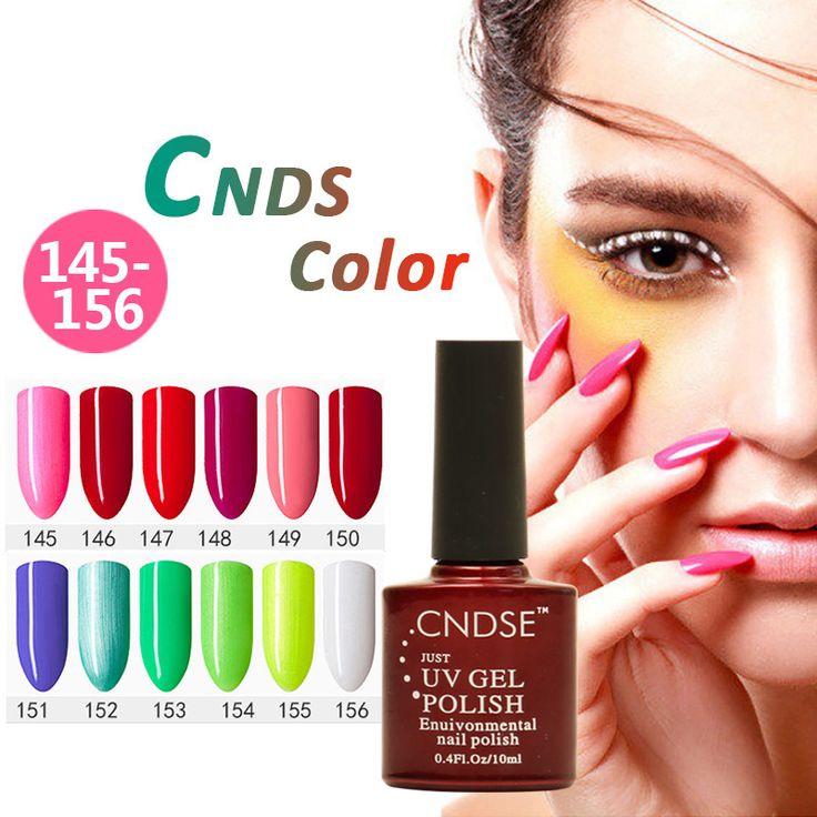 CNDSE 156Color Verntion UV Led Lamp Lucky Gel Polish Nail Art Manicure Vernish Semi Permanent 10ML Soak Off Matt Gel Nail Polish