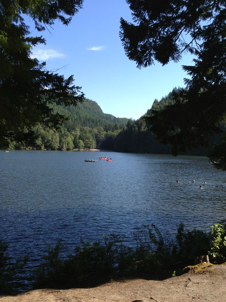 Camping at Alice Lake Provincial Park (requires transportation to Squamish)
