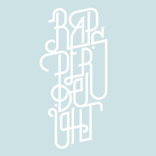 Typography Mania #272 | Abduzeedo Design Inspiration